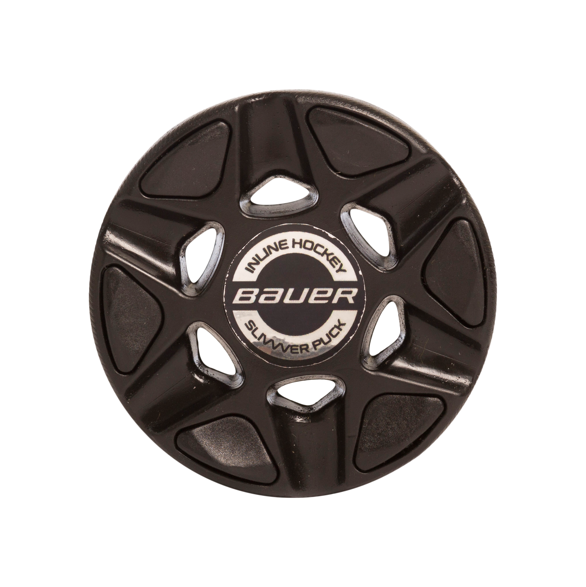 BAUER RH SLIVVVER PUCK (SINGLE),BLK,medium