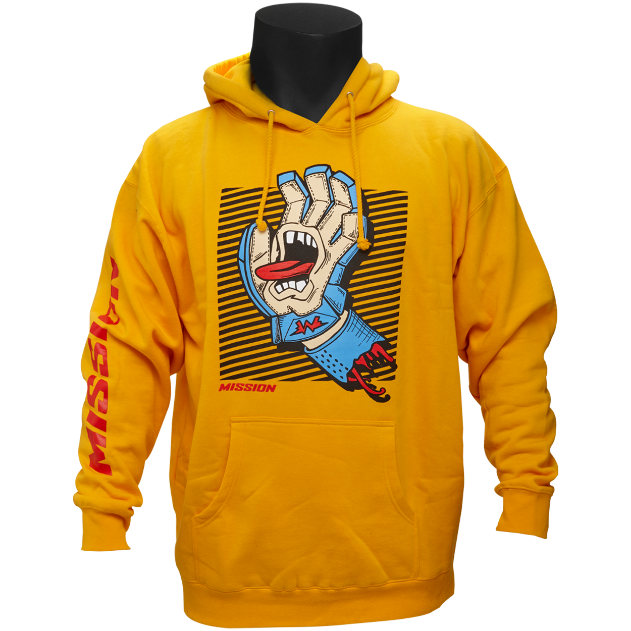 MISSION Screaming Glove Hoodie Senior,,medium