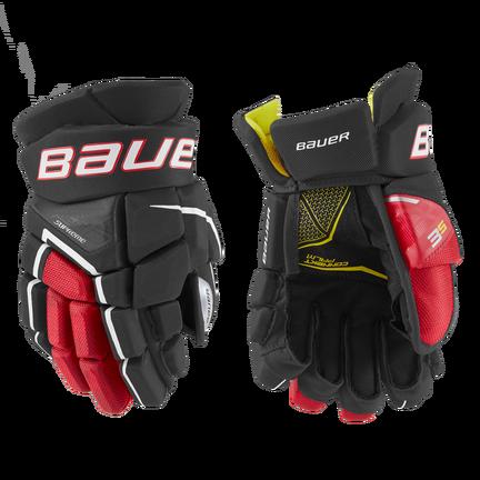 SUPREME 3S Glove Junior,Svart röd,medium