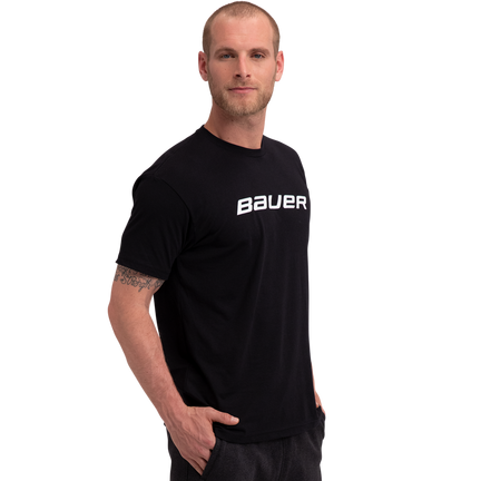 Core kortärmad T-shirt,SVART,medium