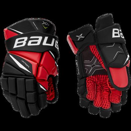 VAPOR X2.9 Gloves Junior,Черный с красным,Размер M