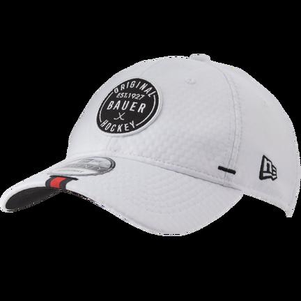 New Era Adjustable Golf Hat,Vit,medium