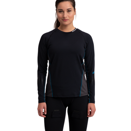 Women's Long Sleeve Base Layer Top,,Medium