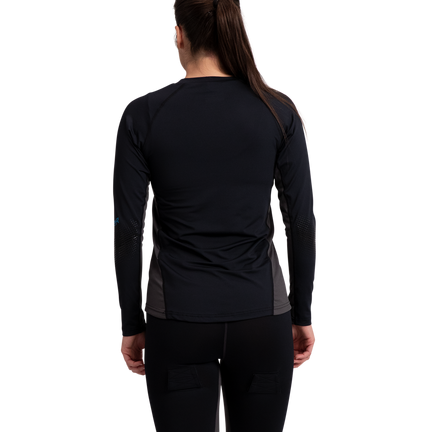 Women's Long Sleeve Base Layer Top,,moyen