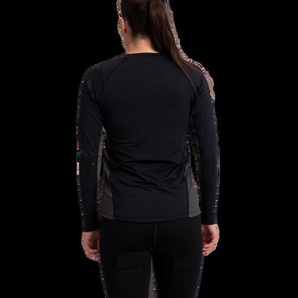 Women's Long Sleeve Base Layer Top,,moyen