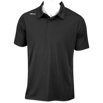 Short Sleeve Sport Polo Shirt,BLACK,medium
