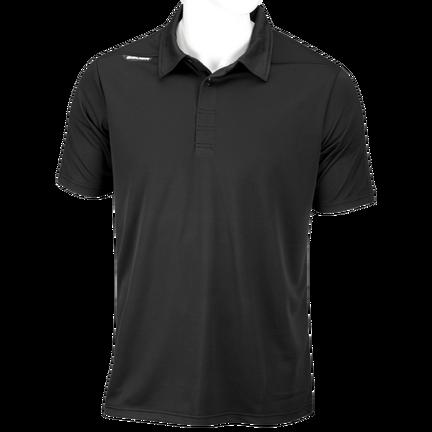Sport Polo T-shirt,SVART,medium