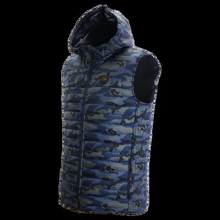 BAUER HOCKEY FLC Hooded Puffer Vest Senior,,medium