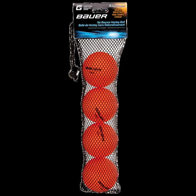 HydroG vätskefyllda, studsfria hockeybollar för varmt väder