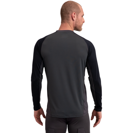 Pro Long Sleeve Base Layer Top,Svart,medium