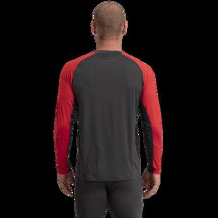Pro Long Sleeve Base Layer Top,Klarröd,medium