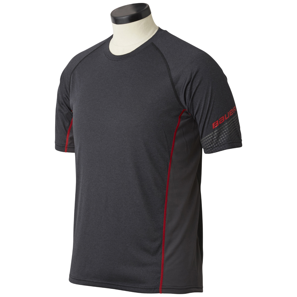 Essential Short Sleeve Base Layer Top Youth,,medium