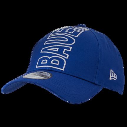 New Era 9FORTY Snapback Crown Logo Hat,Blå,medium