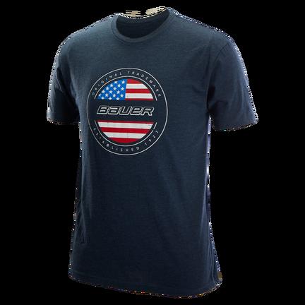 BAUER USA FLAG T-Shirt,,Размер M