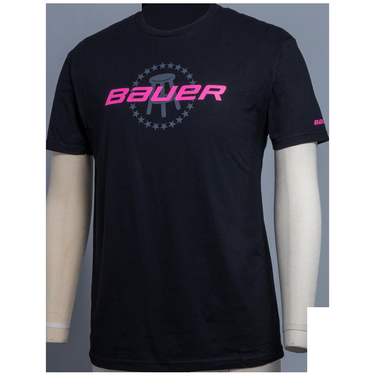 Bauer Barstool Co-Lab Pink T-Shirt,,medium