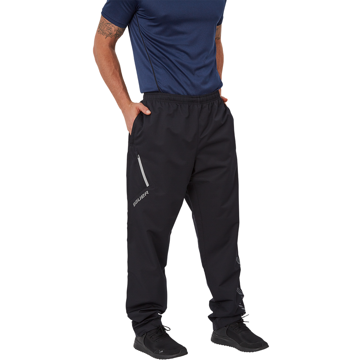 Bauer Supreme Lightweight Pant,Schwarz,Medium