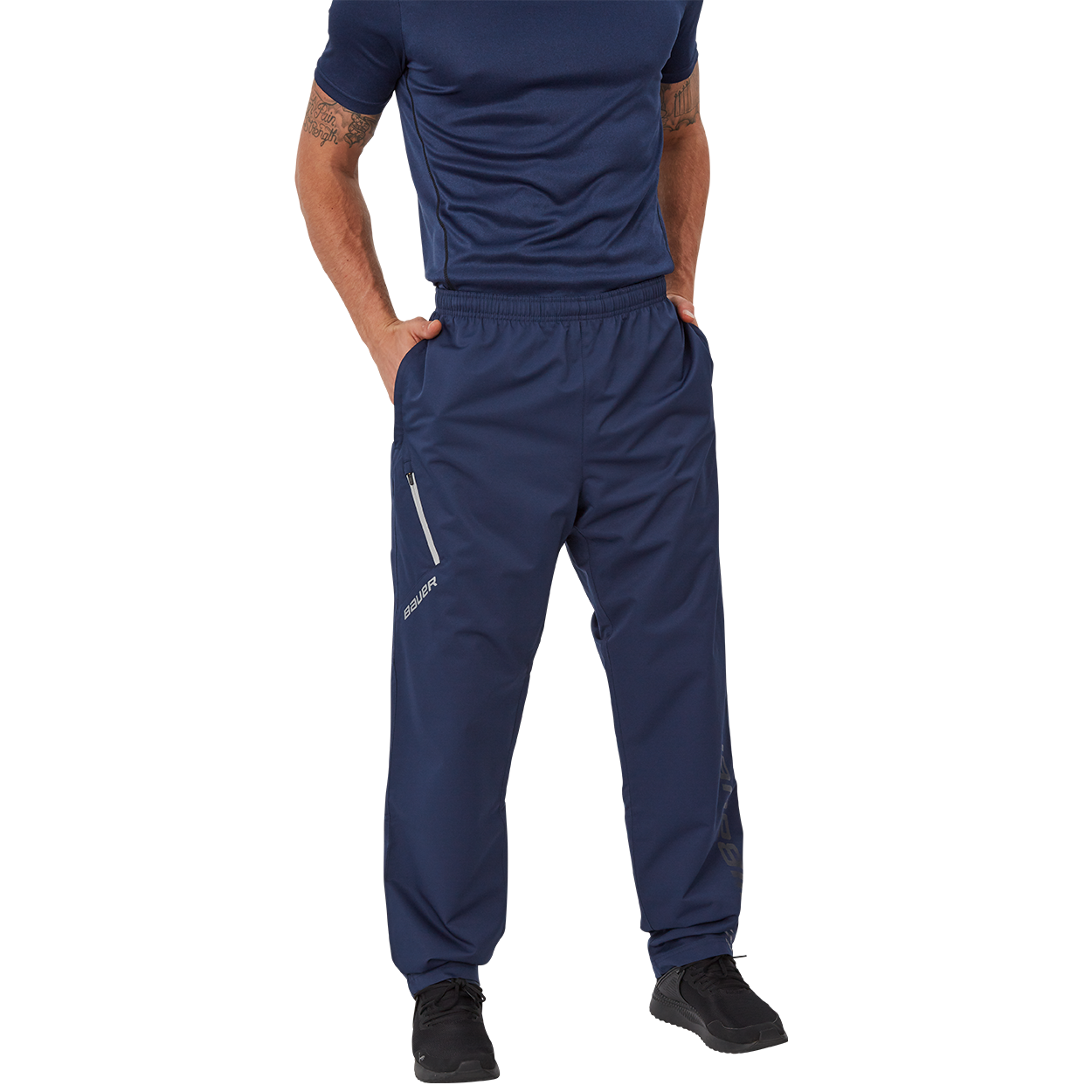 Bauer Supreme Lightweight Pant,Navy,medium