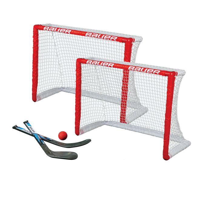 KNEE HOCKEY GOAL SET - TWIN PACK