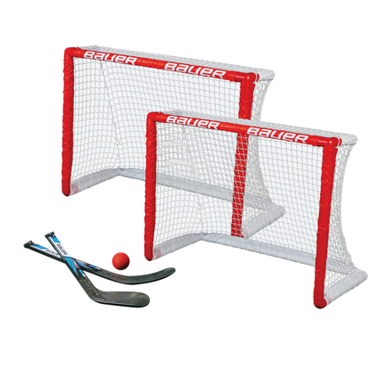 KNEE HOCKEY GOAL SET - TWIN PACK,,medium