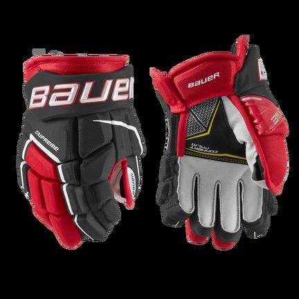 SUPREME 3S PRO Glove Junior,Svart röd,medium