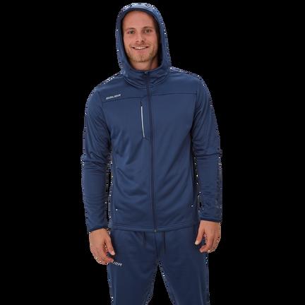 Bauer Vapor Fleece Zip Hoodie,Marineblau,Medium