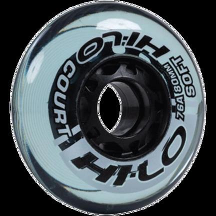 HI-LO COURT ROLLER HOCKEY WHEELS 4PK S16 (INDOOR),,moyen