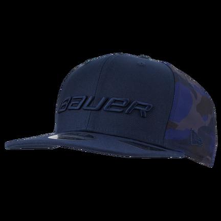 New Era 9FIFTY Camo Snapback Hat,Blå,medium