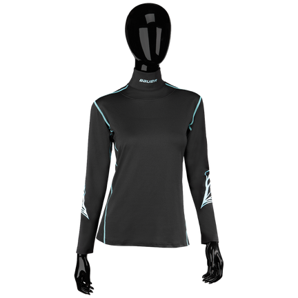 Women's NECKPROTECT Long Sleeve Top - Senior,,moyen