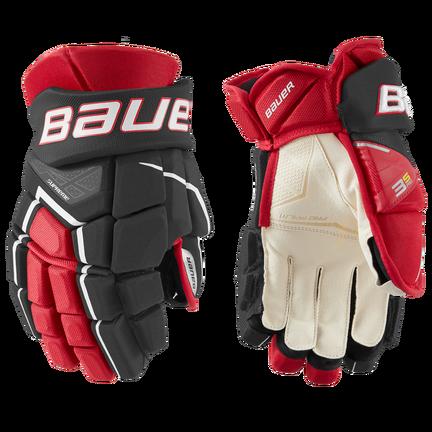 SUPREME 3S PRO Glove Senior,Svart röd,medium
