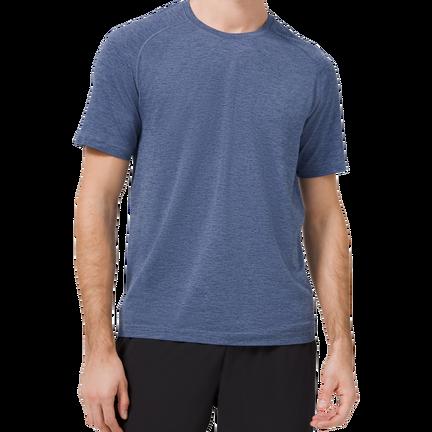 BAUER // lululemon Metal Vent Tech Short Sleeve Tee,Blå,medium