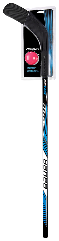 SH100 Street Hockey Stick and Ball Combo Pack,,medium