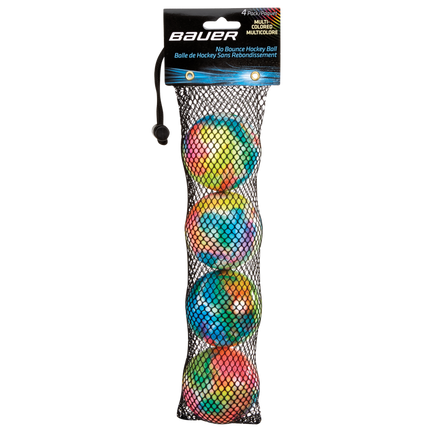 Multi-Colored No-Bounce Hockey Balls,,medium