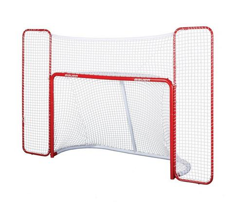 Official Performance Steel Goal with Backstop,,medium