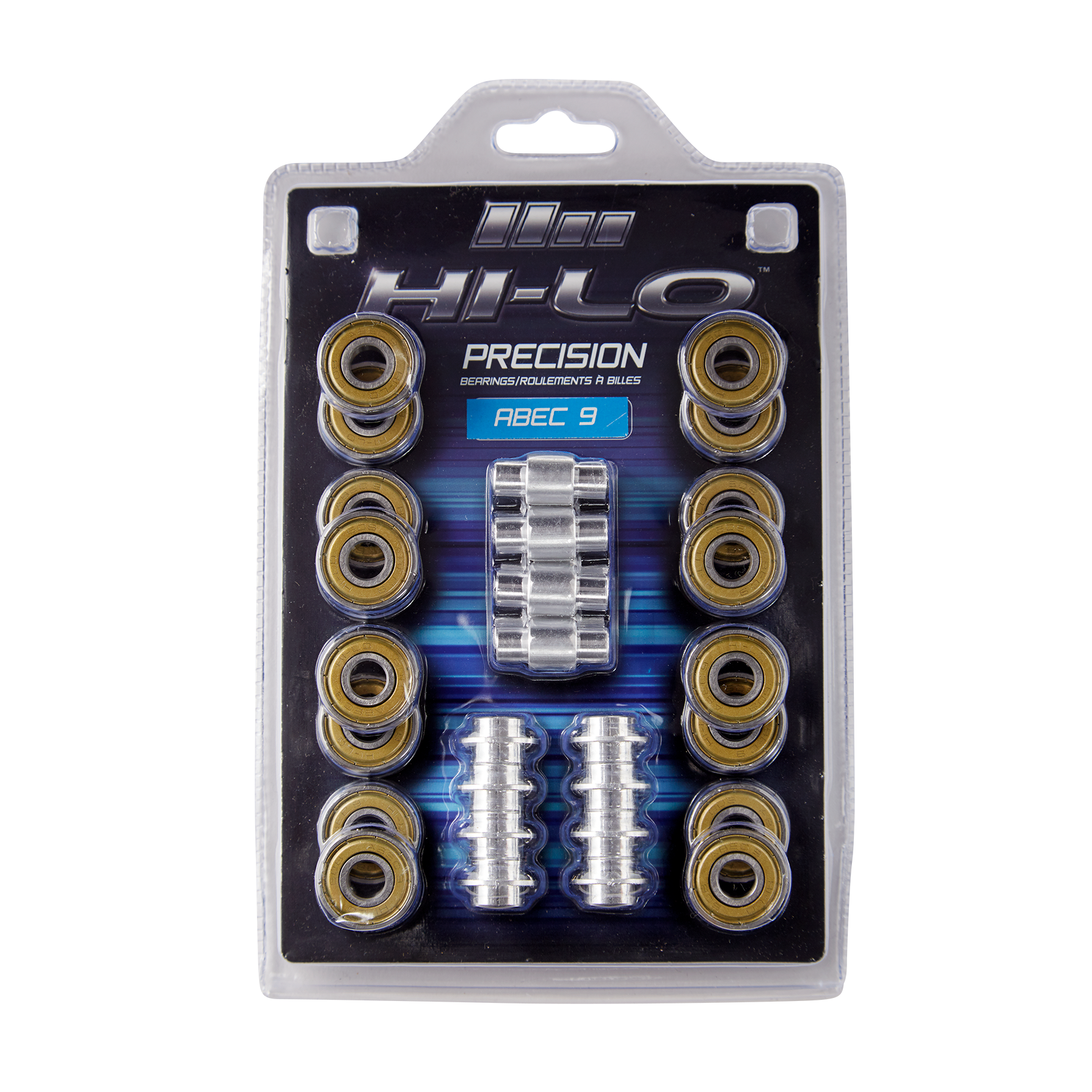 HI-LO RH ABEC 9 608 BEARINGS S19