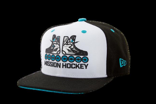 MISSION RH SKATER 9FIFTY A-FRAME HAT,,Medium