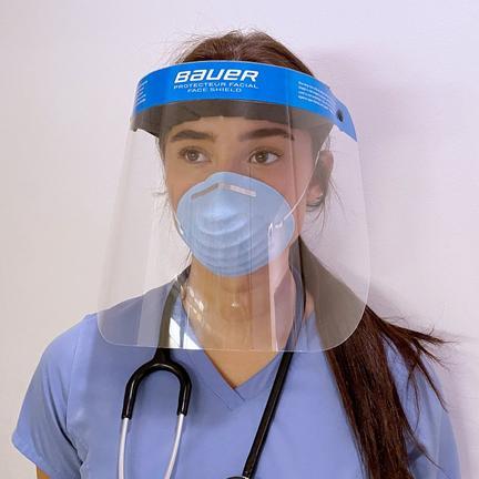 Bauer Medical Protective Face Shield,,medium