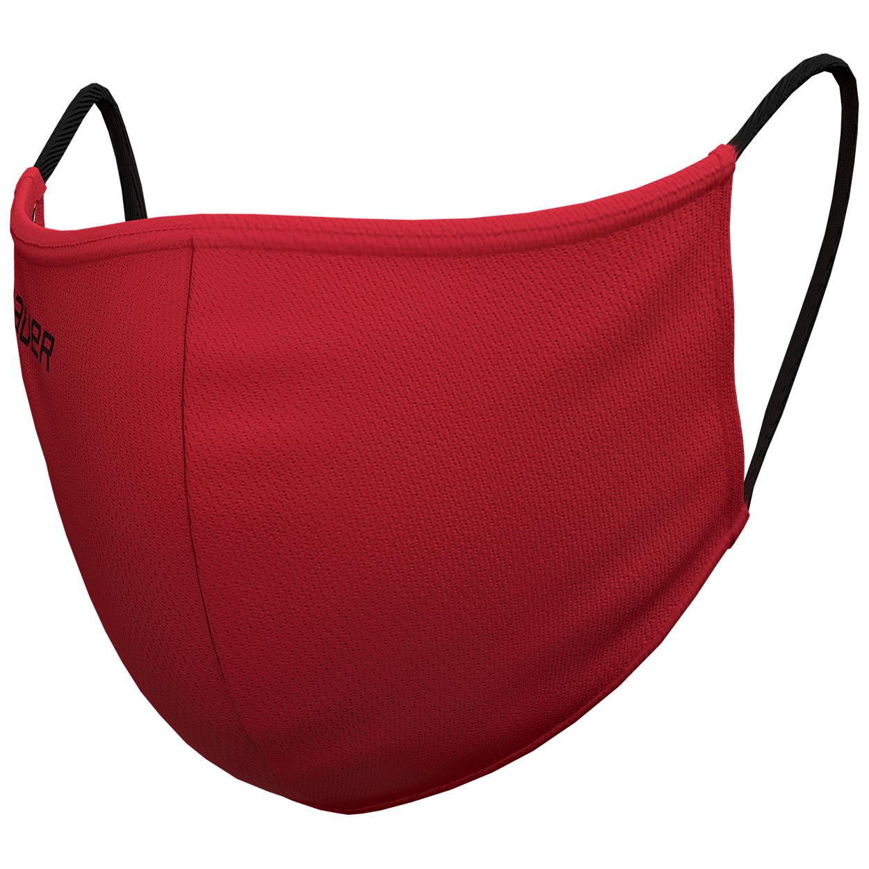 Bauer Reversible Fabric Face Mask Red/Bauer