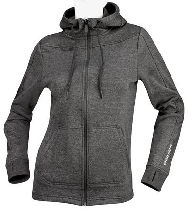 Women's Premium Full Zip Hoody,CHARCOAL,medium
