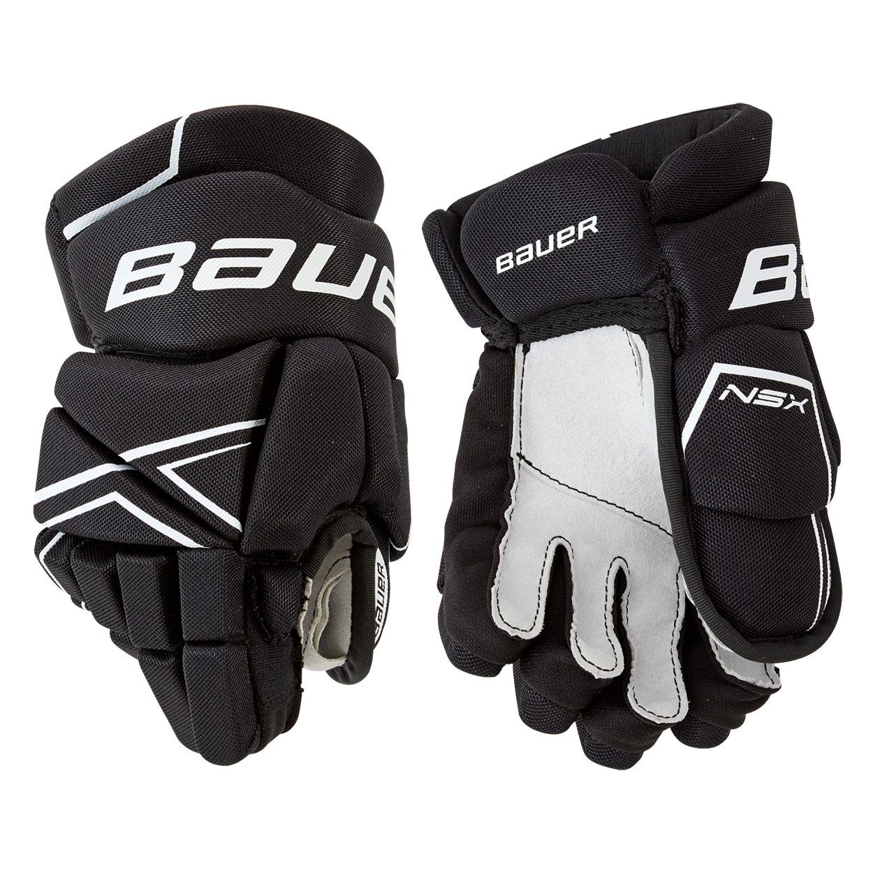 NSX Glove Youth,Schwarz/weiß,Medium