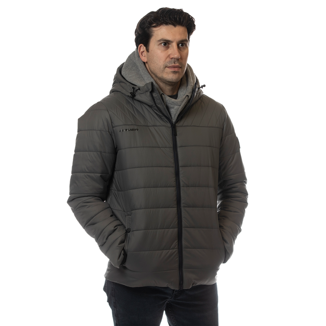 BAUER HOCKEY Men's Hooded Puffer Jacket