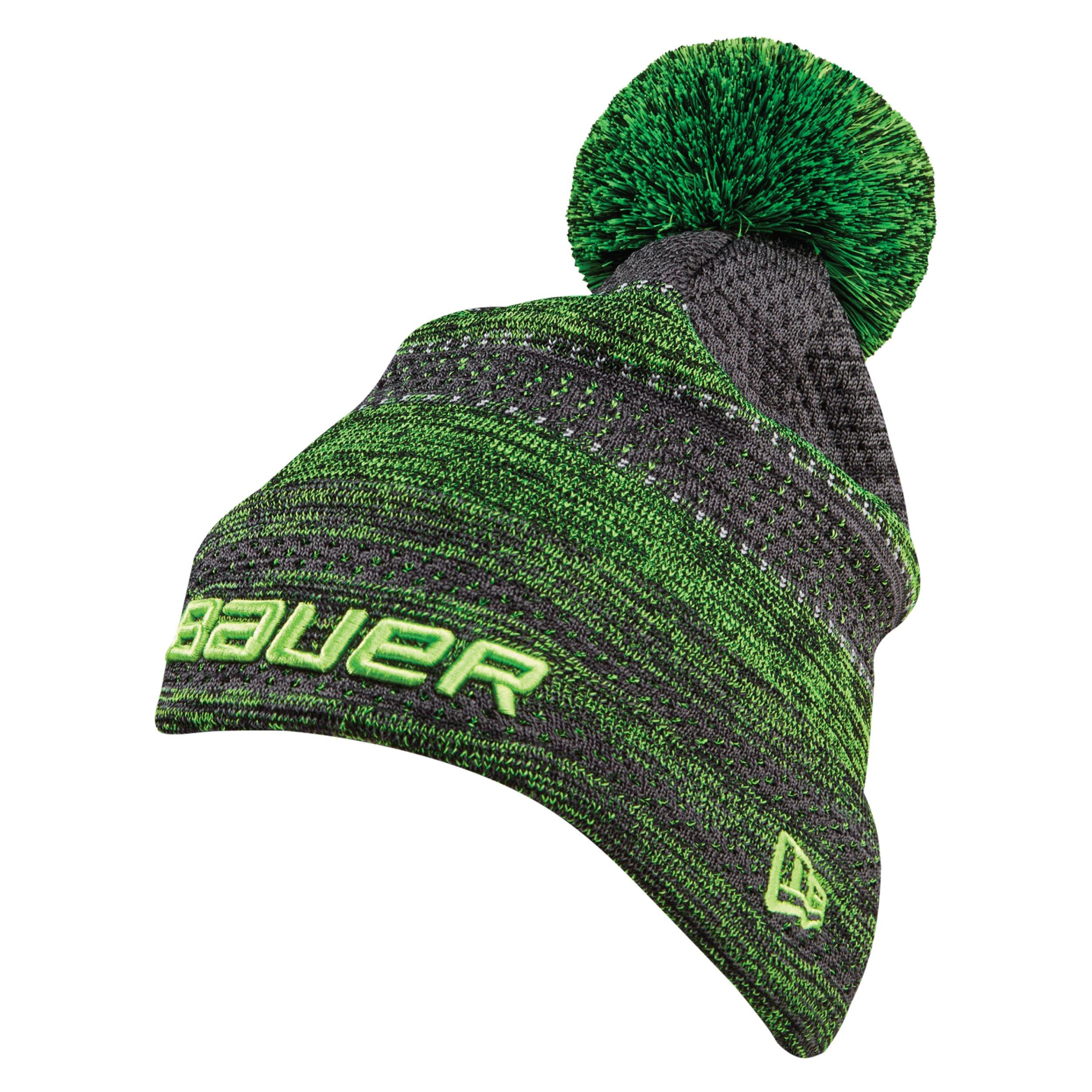 BAUER / New Era® Color Pop Striped Pom Pom - Lime,,Medium
