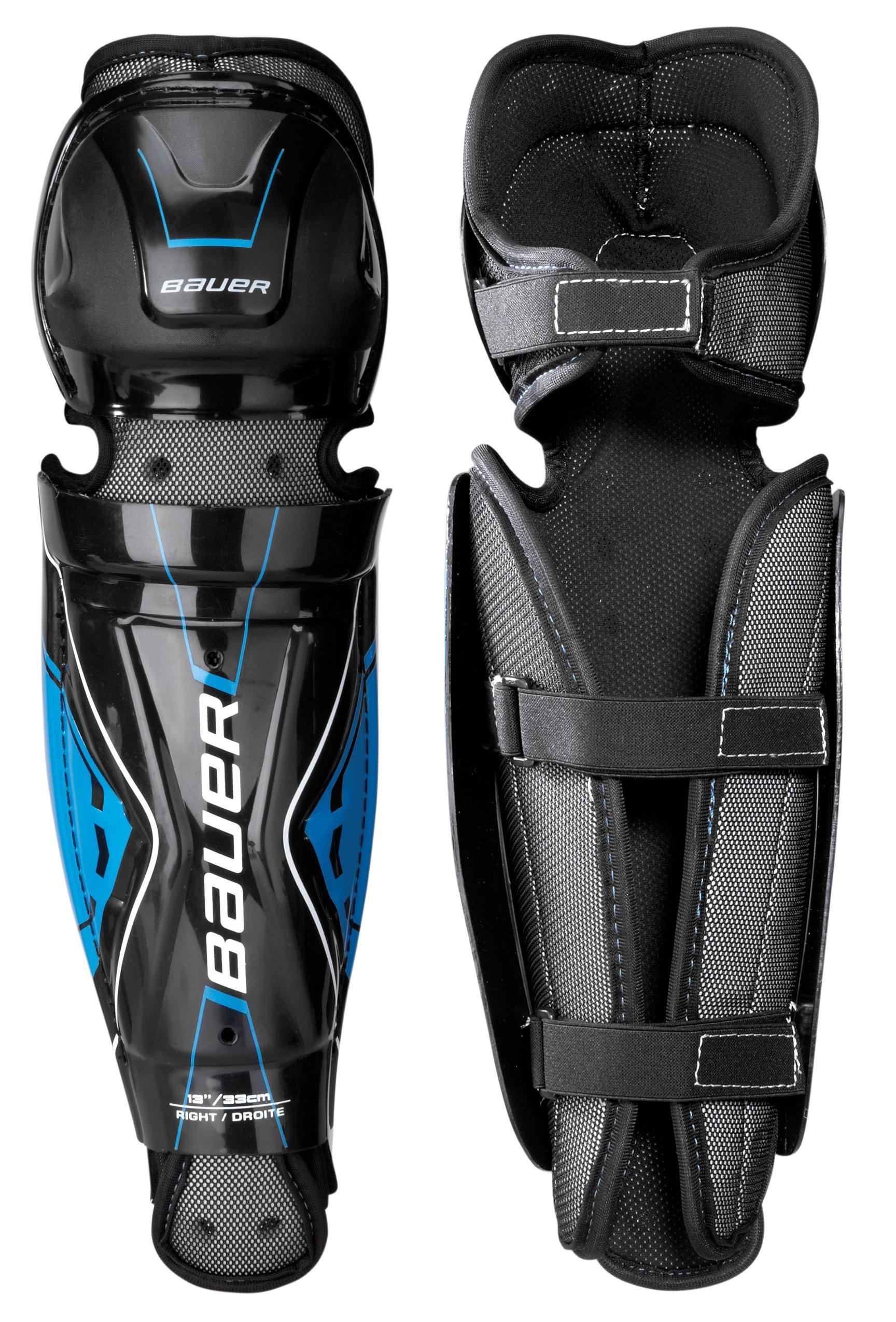 Performance Street Hockey Shin Guard Junior,,moyen
