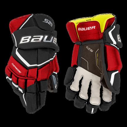 Supreme S29 Gloves Junior,Schwarz/rot,Medium