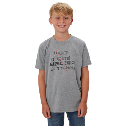 Slash 1927 Short Sleeve T-Shirt,Gråmelerad,medium