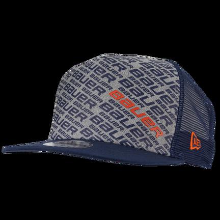 New Era 9FIFTY Snapback Repeat Hat,Blå,medium