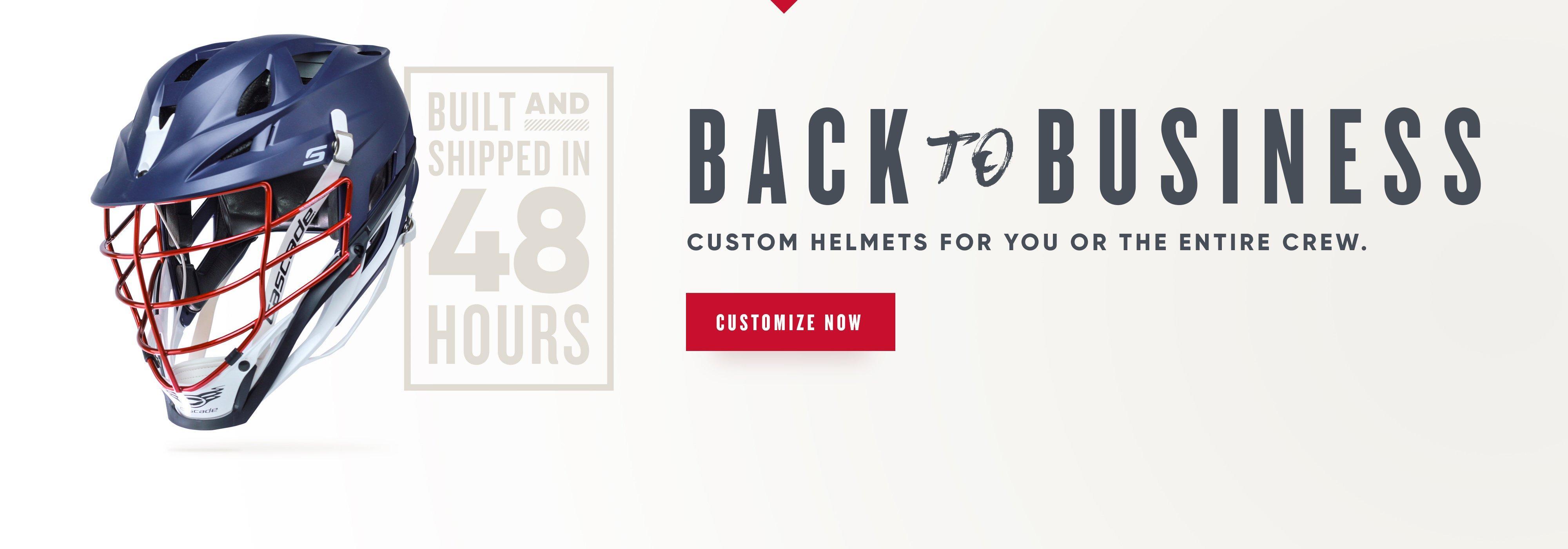 cascade helmet