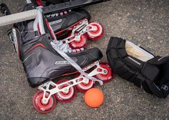 Bauer Vapor roller skates