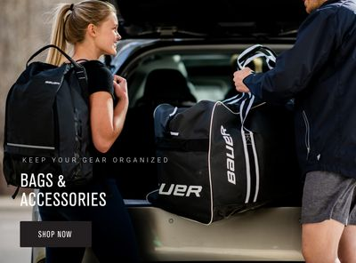 Bauer hockey accessories