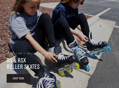 RS & RSX Roller Skates