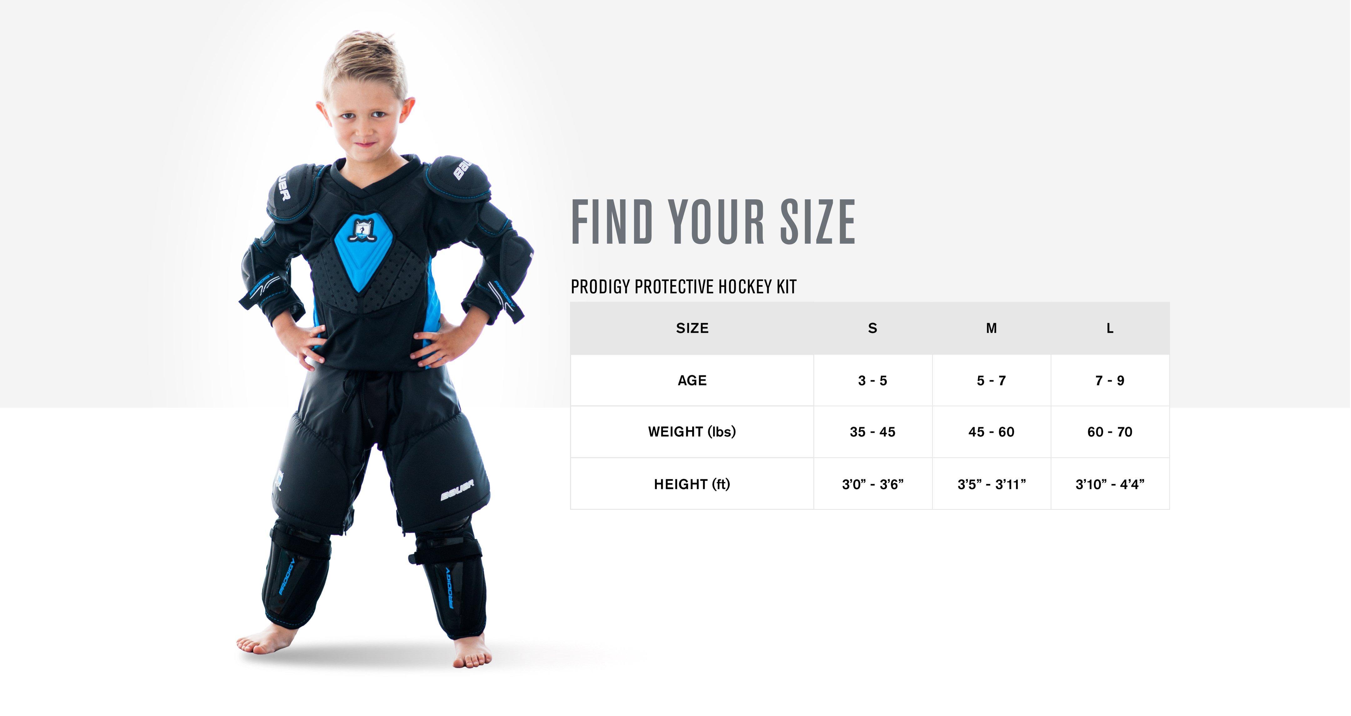 Prodigy Youth Kit FindSize